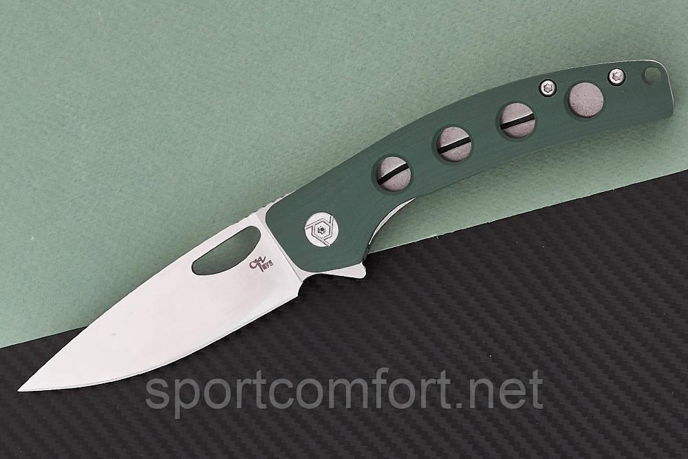 Нож складной CH 3530-G10-AG