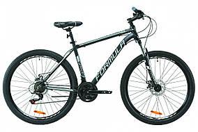 """Велосипед 27.5"""" THOR 1.0 AM DD 2020 YS 728 60% matt образец (черно-серый с белым (м))"""