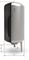 Мембранный расширительный бак 300 EVH KHT вертикальный