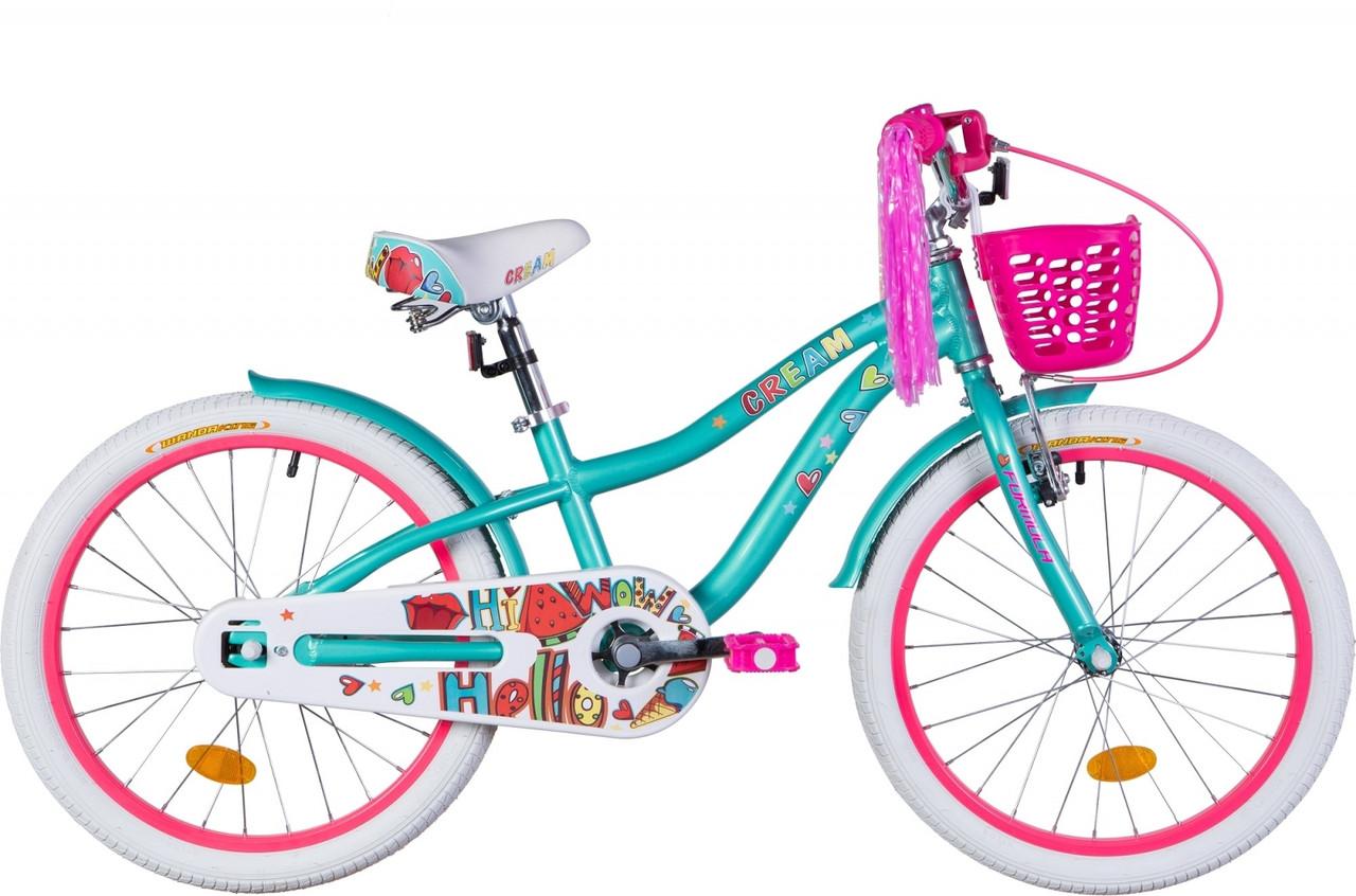 """Велосипед 20"""" Formula CREAM 2020 (бирюзовый)"""