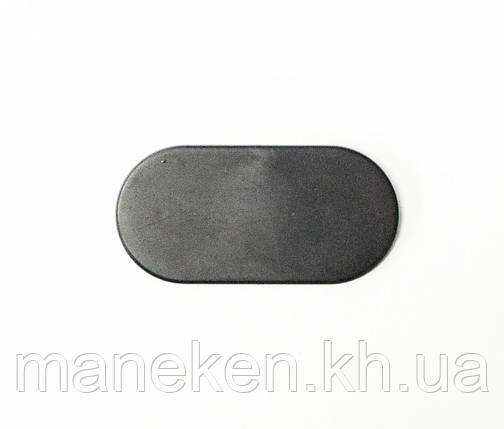 "Таргетка ""Овал"" S3black (черный) пустая, фото 2"