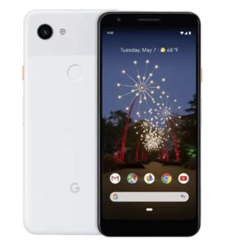 "Телефон Google Pixel 3a 5.6"" WHITE Gorilla / Snap 670 / 4/64Гб / 12Мп / 3000мАч"