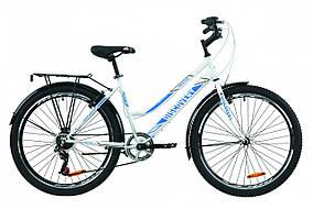 "Велосипед 26"" Discovery PRESTIGE WOMAN 2020 (бело-голубой)"