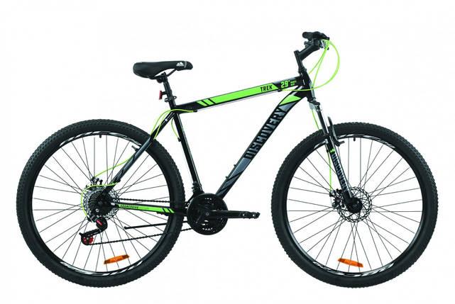 """Велосипед 29"""" Discovery TREK DD 2020 (черно-зеленый с серым), фото 2"""