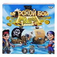 Гра настільна Морской бой PIRATES GOLD Рос Danko Toys