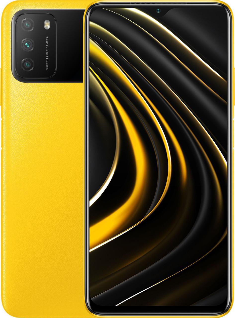 Xiaomi POCO M3 4/64 Yellow Гарантия 1 Год