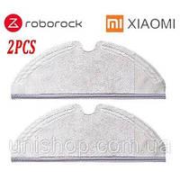 Комплект салфеток для робот-пылесоса Xiaomi MiRobot / RoboRock S50 S51 S55 S5Max S6 Xiaowa 2 штуки