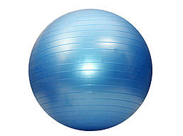 """Мяч для фитнеса """"GYM BALL"""". Диаметр 65 см. синий."""