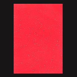 Набір Фетр Santi м'який з глит., червоний, 21*30см (10л)