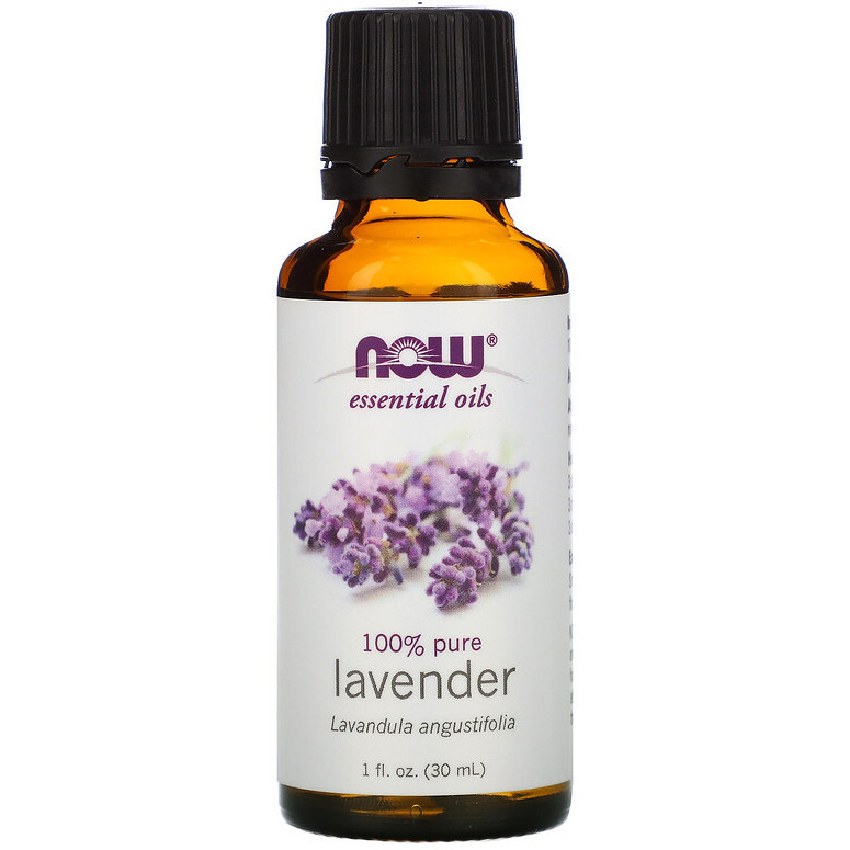 Эфирное масло лаванды NOW Foods Lavender 100% , 30 мл