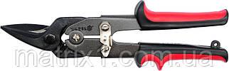 Ножиці по металу 250 мм, прямий і лівий рез, сталь-СгМо // VOREL