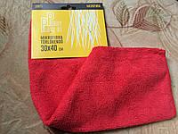 Тряпка для уборки микрофибра 100% 30*40см
