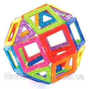 Детский развивающий магнитный конструктор 106 предметов