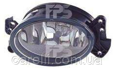 Фара противотуманная левая овальная Н11 (кроме AMG)для Mercedes 219 2004-10