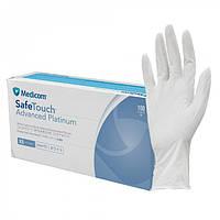 Белые нитриловые перчатки Medicom SafeTouch Platinum White S