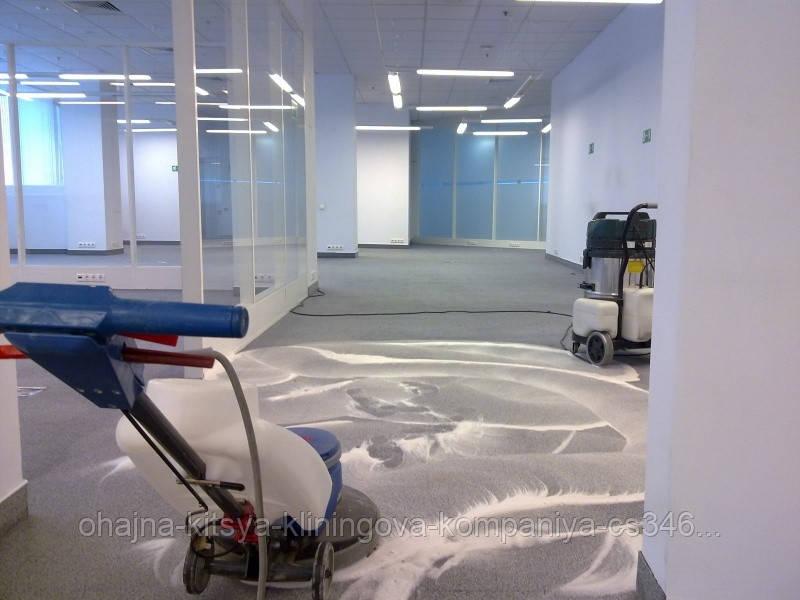 Химчистка коммерческого офисного ковролина