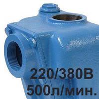 Насос для дизельного топлива 550л/мин  380В  1,1кВт  HE550