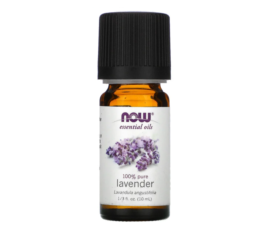 Эфирное масло лаванды NOW Foods Lavender 100% , 10мл