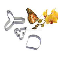 Орхидея Баттерфляй набор каттеров для мастики