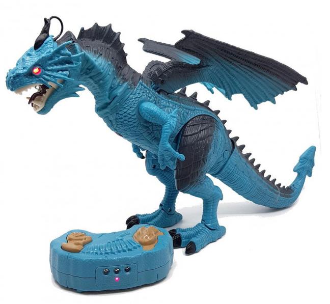 Динозавр на радиоуправлении Dinosaur Planet Синий (RM101001133)