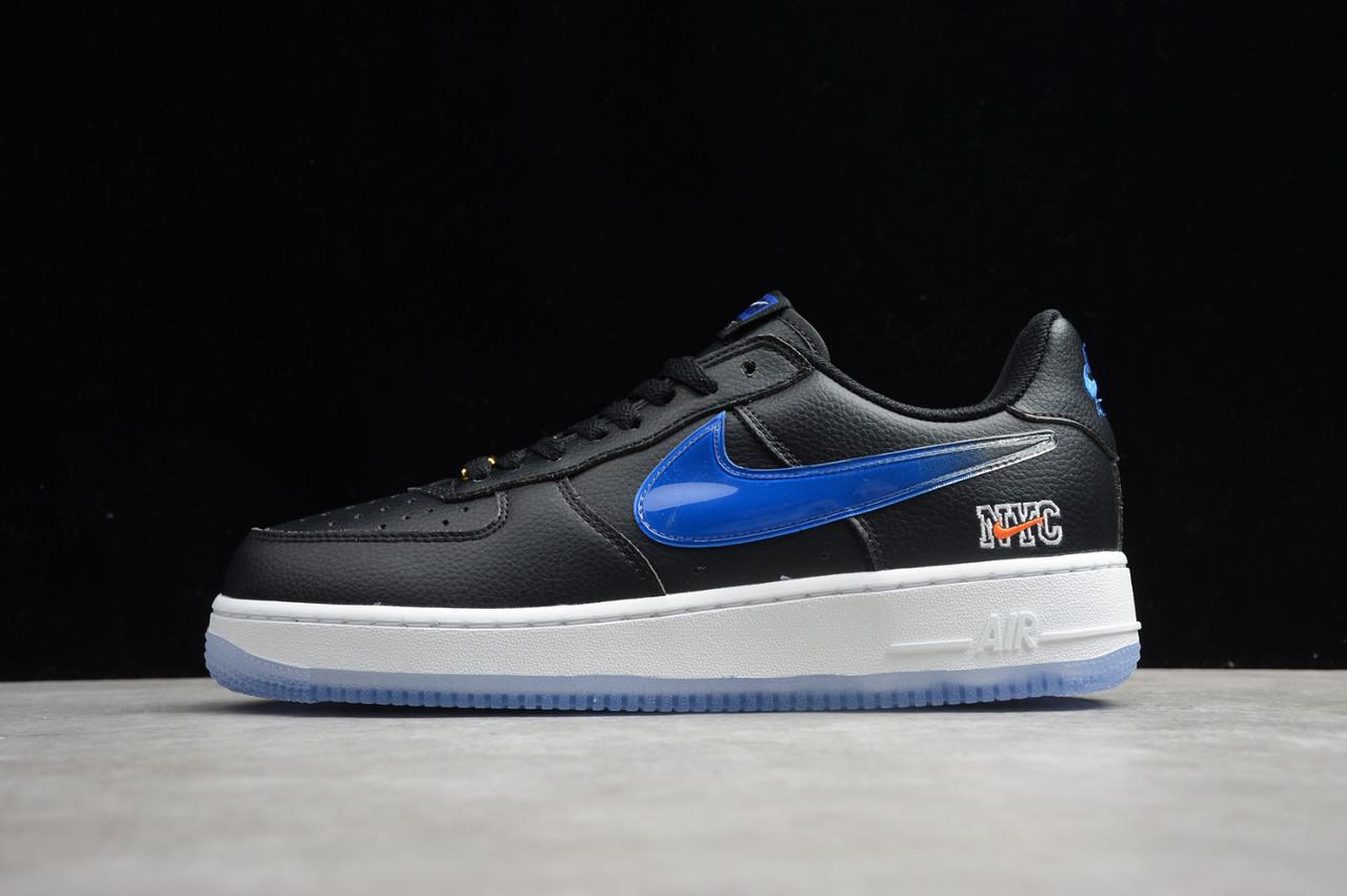 """Кроссовки Nike Air Force 1 NYC """"Черные/Белые"""""""