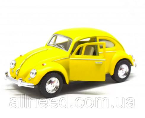 Машинка Kinsmart Volkswagen Beetle (Желтый)