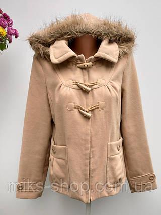 Пальто жіноче осінь - зима Розмір M-L ( А-56), фото 2