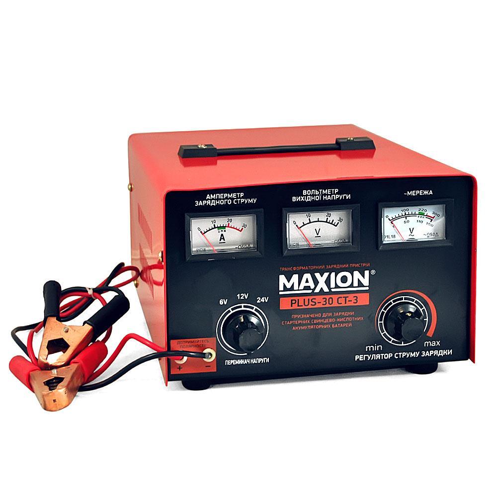 Maxion PLUS 30CT-3 Автомобильное зарядное устройство для аккумулятора