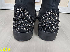 Ботинки деми на низком ходу черные, фото 2
