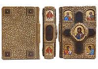 Новый Завет и Псалтырь - элитная кожаная подарочная книга