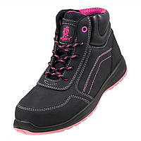 Женские ботинки 116 S1 с металлическим подноском. Urgent