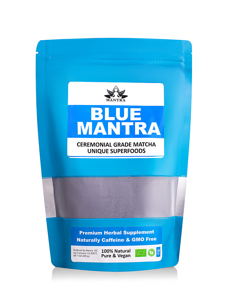 Матчу блакитна , маття латте, порошковий зелений чай, зелений чай матчу, чай Matcha