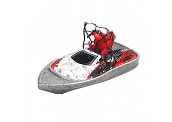 Радиоуправляемая игрушка BOLT CH405 3в1 Катер-Машинка-Квадрокоптер (Красный)