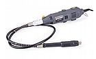 Шлифмашинка с гибким кабелем POWERMAT PM-SPT-350 350Вт 300ел, фото 8