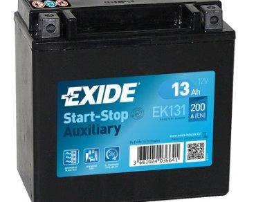 EXIDE 6СТ-13 Аз EK131 Автомобильный аккумулятор, фото 2