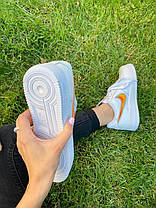 "Кросівки Nike Air Force 1 Rucker Park ""Білі/Помаранчеві"", фото 3"