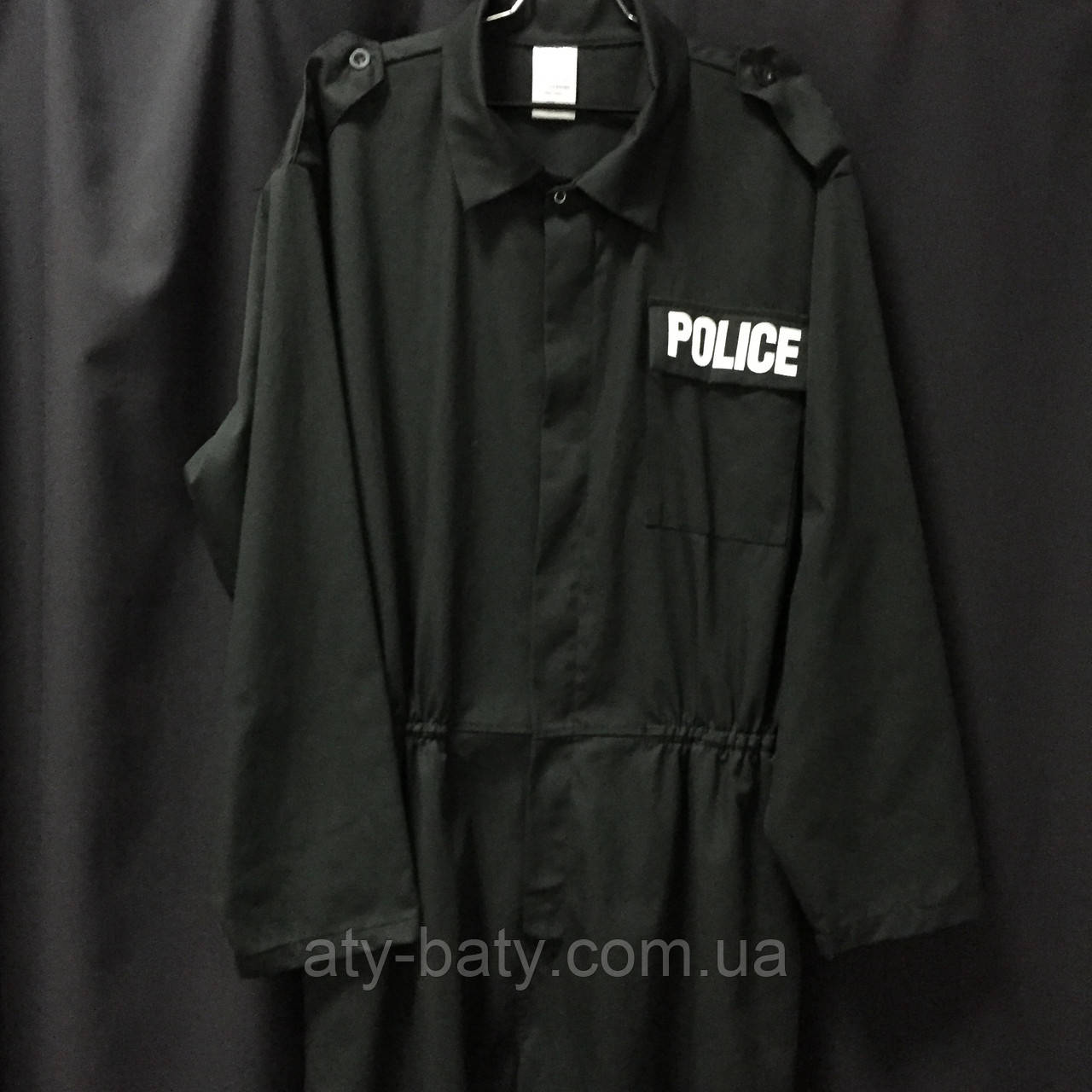 Комбинезон черный POLICE, Б/У №2