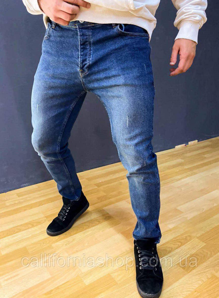 Джинсы мужские синие ZARA