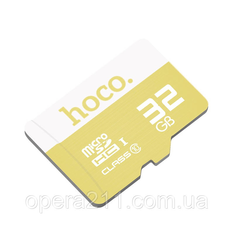 Карта памяти Micro SDHC 32GB, Hoco TF High Speed Memory Card Class 10 for Smartphones and Tablets