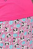 Піжама жіноча рожева кофта та штани код П220, фото 4