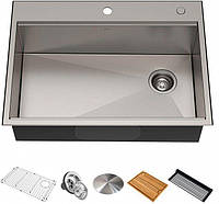 Кухонная мойка с аксессуарами KRAUS KWT310-30 Kore