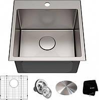 Кухонная мойка с аксессуарами KRAUS KHT301-18 Standart Pro