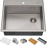 Кухонная мойка с аксессуарами KRAUS KWT311-25 Kore