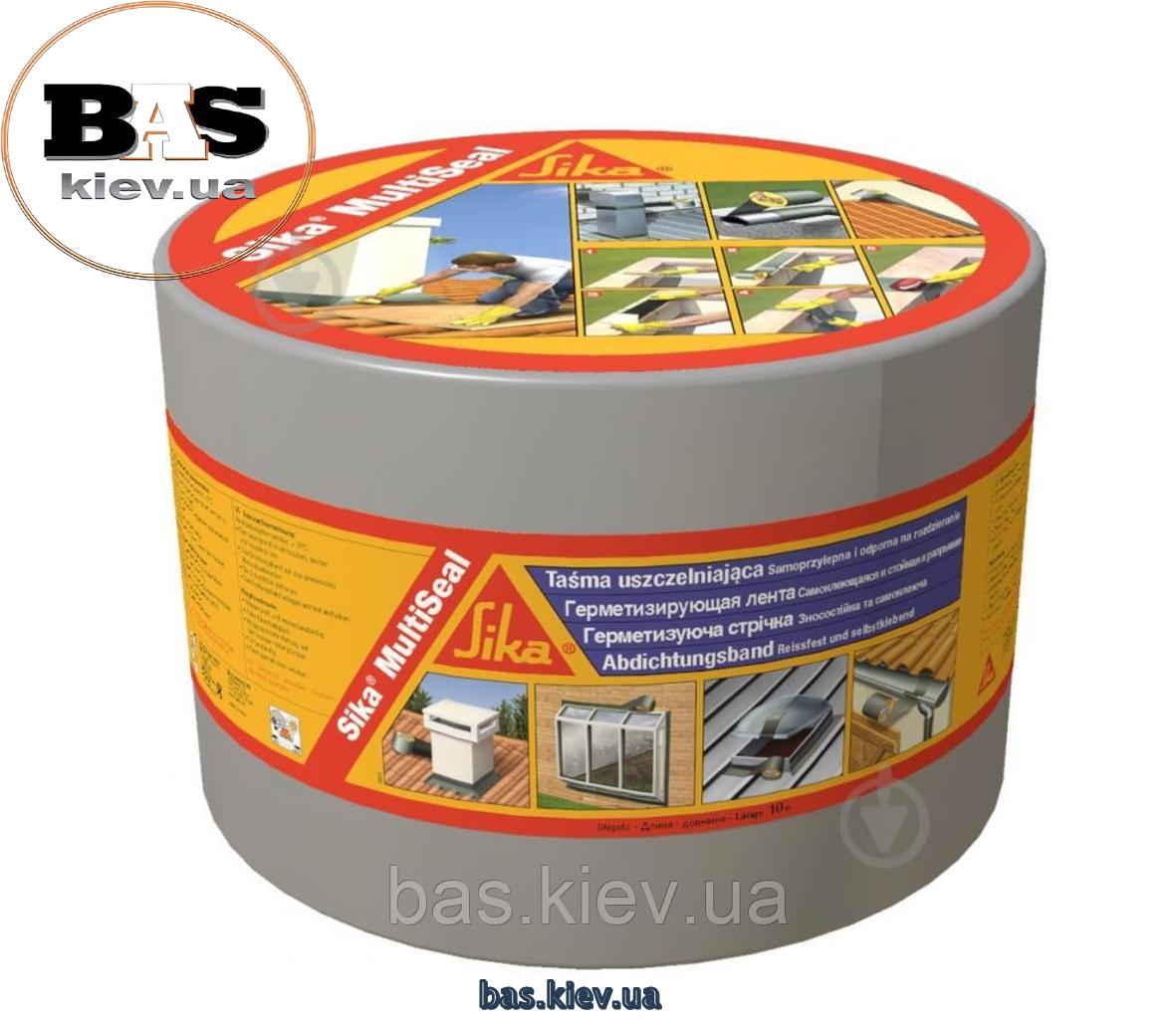 SIKA® MULTISEAL-T Самоклейкая герметизирующая битумная лента 100мм, 10м