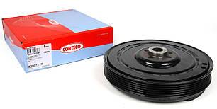 Шків коленвала+шайба VW Crafter 2.5 CORTECO 80001157 (Німеччина)