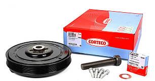Шків коленвала VW Crafter 2.5 TDI (к-кт болти + шайба) CORTECO (Німеччина)