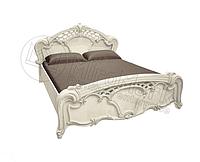 Ліжко 1,6х2,0 без каркасу, Спальня Олімпія, радіка беж, МИРОМАРК
