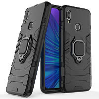 Чехол Ring Armor для Vivo Y93 Lite Black