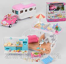 Передвижной пляжный авто дом для ЛОЛ, Pet Shop, Флоксовых зверушек.