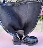 Женские зимние сапоги Эконика натуральная кожа цигейка 41, фото 4